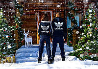 """Куртка спортивная трикотажная на меху """"Adidas"""""""