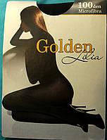 Колготки женские теплые Golden Lilia 100 ден,разные цвета