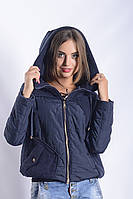 Женская куртка К-011 Синий