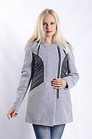 Женское Пальто П-020 Серый