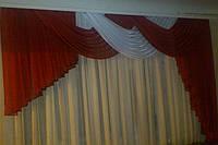 Ламбрекен  для спальни, гостиной № 38