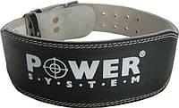 Пояс штангиста кожаный POWER BASIC