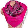 Интригующий женский двусторонний палантин из пашмины 176 на 68 см ETERNO ES2707-6-4 розовый