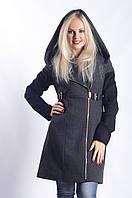 Женское Пальто П-021 Donna Bacconi Твид Черный