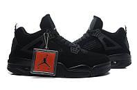 "Nike Air Jordan 4 Retro "" Black Cat"""