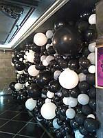 Фотозона стена из шаров