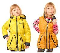Куртка парка демисезонная  для девочки
