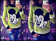 Женский свитер Микки