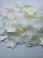Лепестки роз айвори