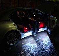 Подсветка двери светодиодной лентой