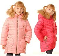 Модная зимняя курточка для девочек