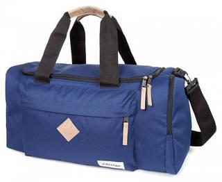 Вместительная дорожная сумка 34 л. Hoppler Eastpak EK94796F синий