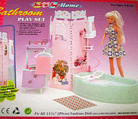 Кукольная мебель Глория Gloria 21013 Ванная комната