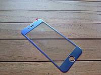 Защитное стекло для iPhone 6/6s с цветной рамкой purple
