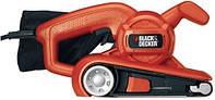 Шлиф.маш. BLACK&DECKER KA86-QS ленточная, 720Вт, 75х457мм.