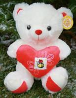 Мишка с сердечком (музыкальный) , мягкая игрушка