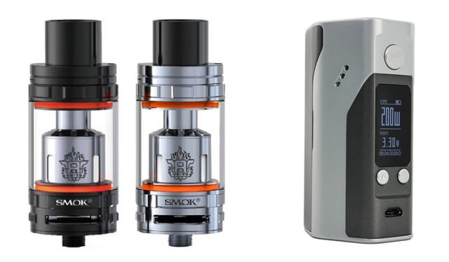 SMOK TFV8 - Wismec Reuleaux RX200S