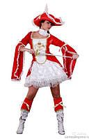 Карнавальный костюм Мушкетерка, в пакете S/M  арт.GT002рт.
