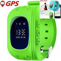 Детские умные часы Q50 Green с GPS трекером (ORIGINAL)
