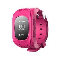 Детские smart baby watch Q50 Pink с GPS трекером (ORIGINAL)