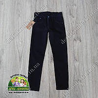 Брюки-джинсы для мальчика темно-синие