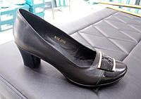 Женские туфли на каблуке натуральная кожа 38,39р