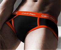 Calvin Klein серии 365. Цвет: черные с оранжевой резинкой. Артикул: CK-36V-D-o
