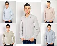 Рубашка мужская однотонная TOS 74F001