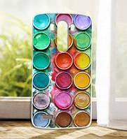 Силиконовый чехол накладка для LG G3 Optimus D855 D857 с рисунком Краски