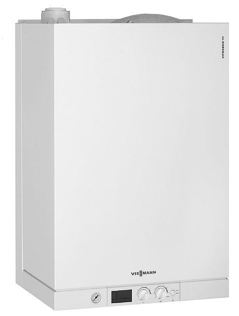 Viessmann Vitodens 100-WB1B090 газовый настенный конденсационный двухконтурный, 35 кВт