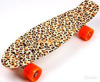 "Пенни борд 22"" Penny Style Leopard shade"