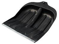 Лопата снеговая без черенка 410*450 мм черная Mastertool (14-6210)