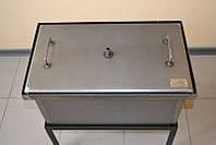 Коптильня двух-ярусная с гидрозатвором (520х300х280)