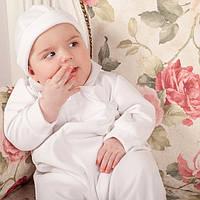 Шапочка Бархатная для мальчика от Miminobaby  36-40 см