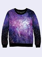 Свитшот для девочки подростка Vilno Галактика