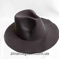 Шляпа ковбойка серая