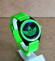 Спортивные часы Adidas, Адидас зеленые с черным