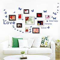 Интерьерная виниловая наклейка стену