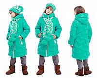 Детская зимняя куртка, отличное качество, фабрика Харьков, Ярина, 28,30,34,38,40,42