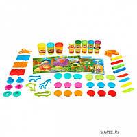 Play Doh Набор пластилина в банке 36 аксессуаров и 13 баночек A0593