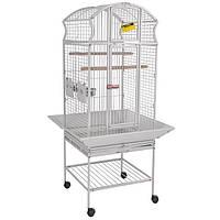 Вольер для средних и крупных попугаев. 58*58*159 см(Ротвис - 2)