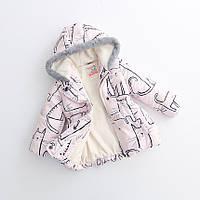 Курточка детская на флисе