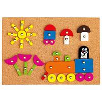 Игра с молоточком Кротик Деревянные развивающие игрушки