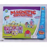 Конструктор магнитный Замок, 98 деталей