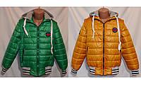 Куртка-жилетка демисезонная  для мальчиков и подростков