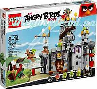 """Конструктор Angry Birds/Энгри бердс """"Замок Короля свинок"""": 859 деталей, 5 фигурок"""