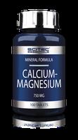 Витамины и минералы Scitec Nutrition Essentials Calcium Magnesium (100 tabs)