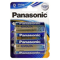 Батарейка Panasonic EVOLTA D BLI 2 ALKALINE