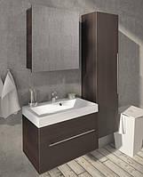 Мебель в ванную от производитель Буль-буль модель Corsika 70 (тумбочка с раковиной, зеркальный шкаф, пенал)