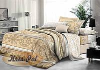 """Комплект постельного белья двуспальный евро """"Восточное солнце""""."""